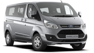 FORD TRANSIT CUSTOM 8+1 MINI BUS
